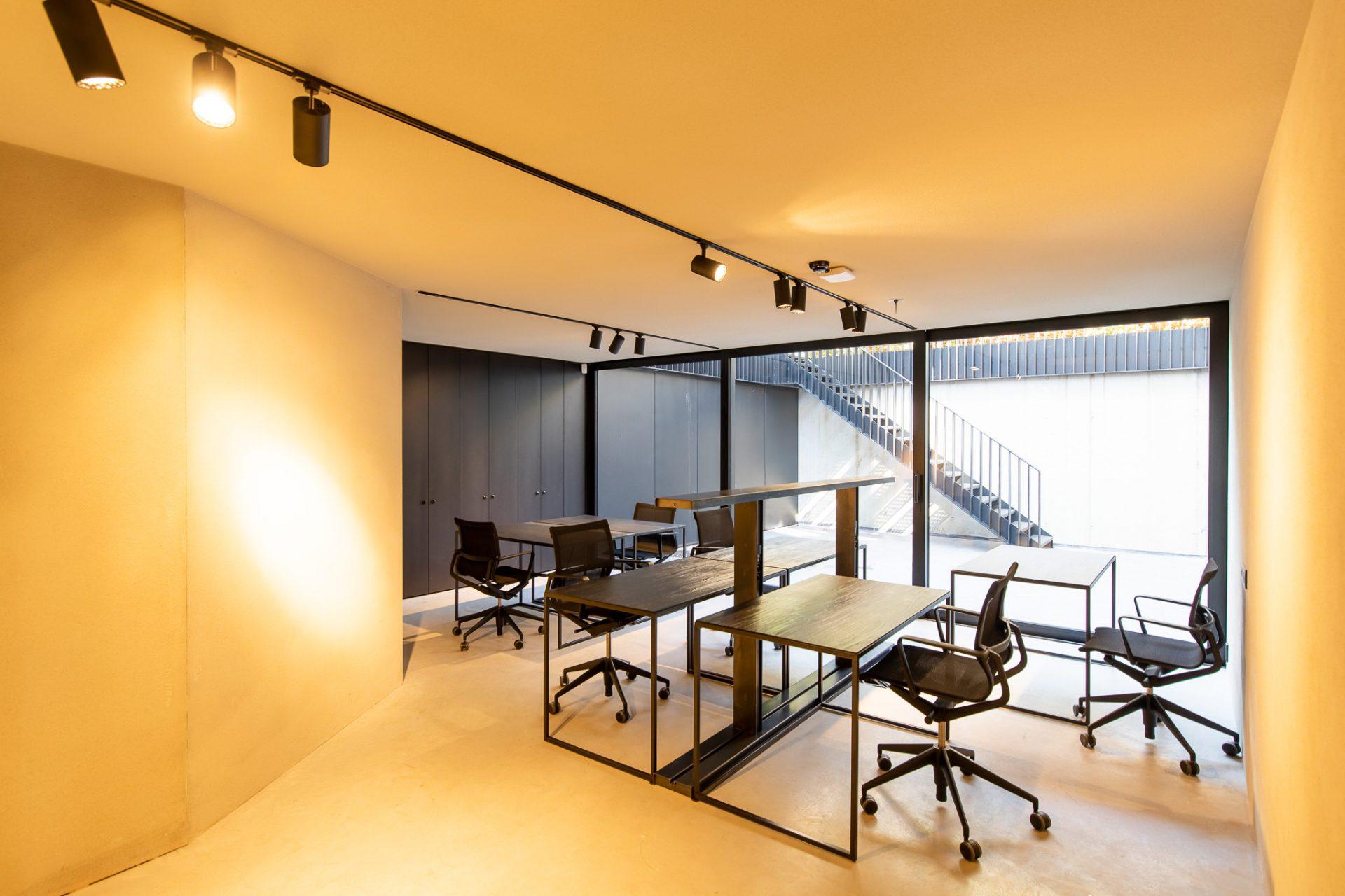 Vergaderzaal te Co-Working space Stokers Antwerpern